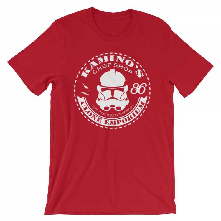 Kamino's Clone Emporium T-Shirt