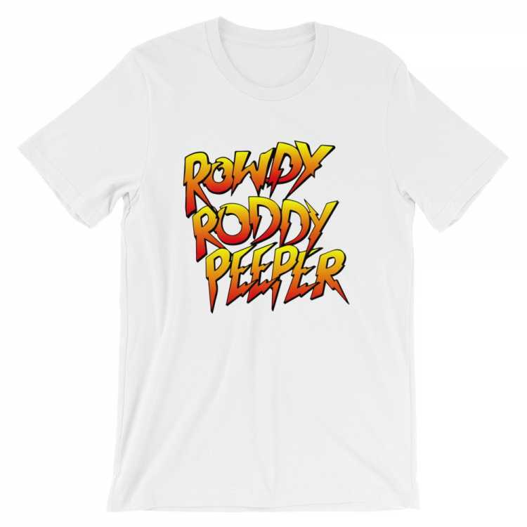 Rowdy Roddy Peeper Nerds Assemble Shirt