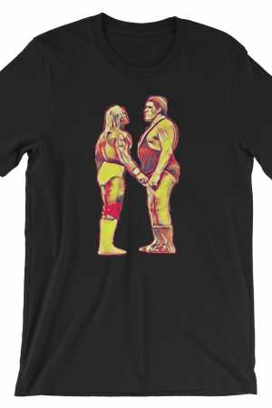 Hogan vs Andre - Wrestlemania III T Shirt