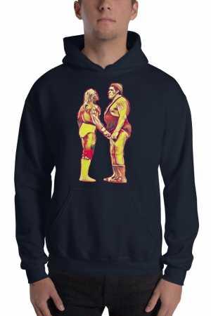 Hogan vs Andre Hoodie
