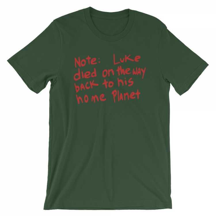 Luke Skywalker Died (Poochie style) T Shirt