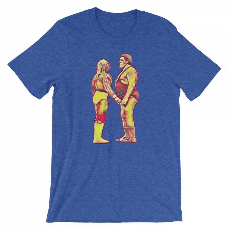 Hogan vs Andre - Wrestlemania III T Shirt
